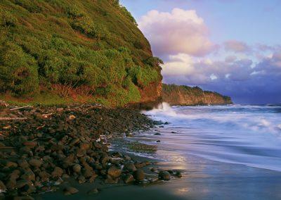 Shoreline at Polulu, HI