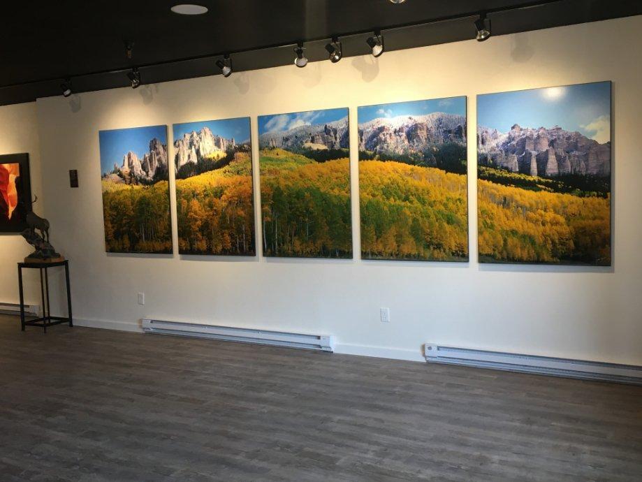 Steamboat gallery interior photo